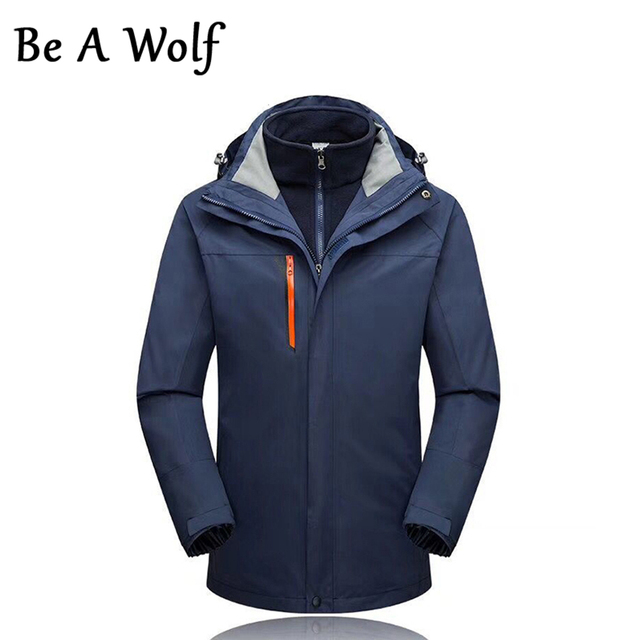 Heated Hunting Clothes >> Us 49 84 49 Off Be A Wolf Outdoor Camping Skiing Hunting Clothes Fishing Winter Jacket Women Heated Jacket Men Waterproof Windbreaker 8002 In Hiking