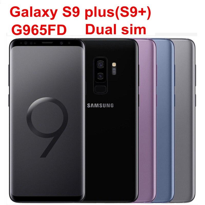 buy samsung galaxy s9 plus s9 duos g965fd dual sim original mobile phone octa. Black Bedroom Furniture Sets. Home Design Ideas