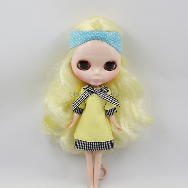 Nude Doll For Series No.230BL288136 YELLOW HAIR nude doll for series no 2237 bronze hair