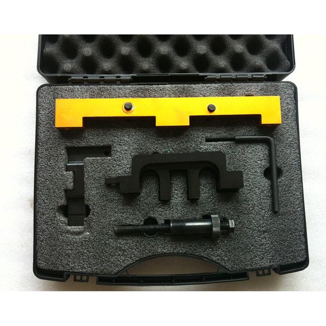 5 PCS Kit de Ferramentas de Alinhamento Mecanismo de Tempo Ferramenta de Bloqueio Da Árvore de Cames Do Motor Para BMW N42 N46