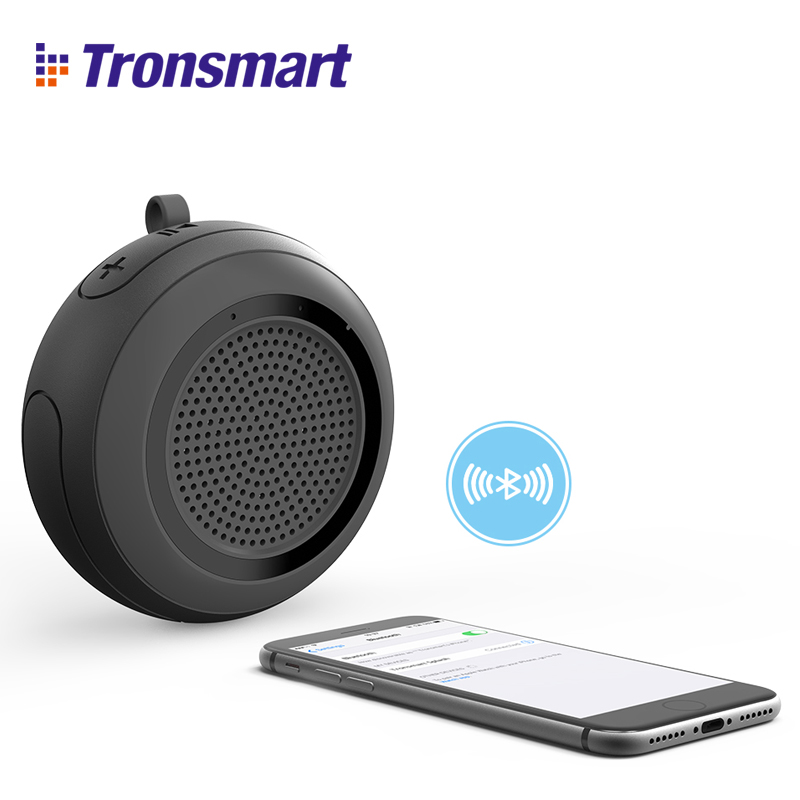 Tronsmart Splash Bluetooth Speaker IP67 Waterproof Computer mini Portable Speaker Wireless Speaker Soundbar ufo shape portable mini rechargeable bluetooth v2 1 speaker black orange