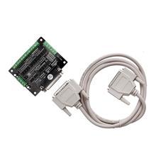 Промо-акция! ЕС 1 шт. шаговый двигатель Breakout Board 6 оси интерфейс DB25 использовать mach3 Адаптер ЧПУ