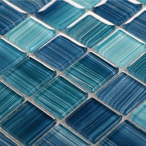 Glass Mosaic Ktchen Backsplash Tile Bathroom Wall Floor