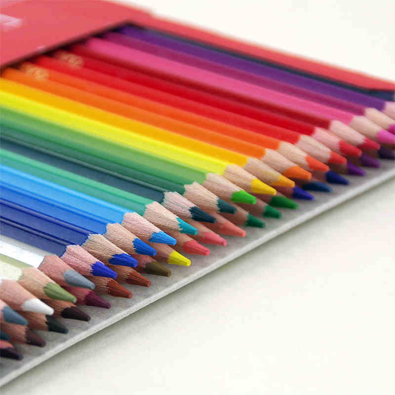 Faber-Castell Fashion Colored Pencils Artist Painting Oily Color Pencil Set For Student Drawing 36 48 72 Colors Free Shipping