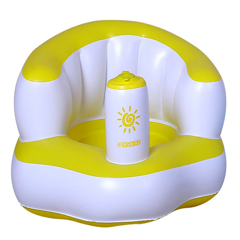 2018 New Baby Chair Small Sofa Inflatable Baby Bath Stools Baby Toys ...
