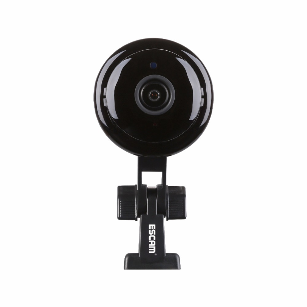 ESCAM Q6 1.0MP Button MINI Camera support WIFI,Two-way voice built-in TF Card Slot,Night Vision Home Security IP Camera