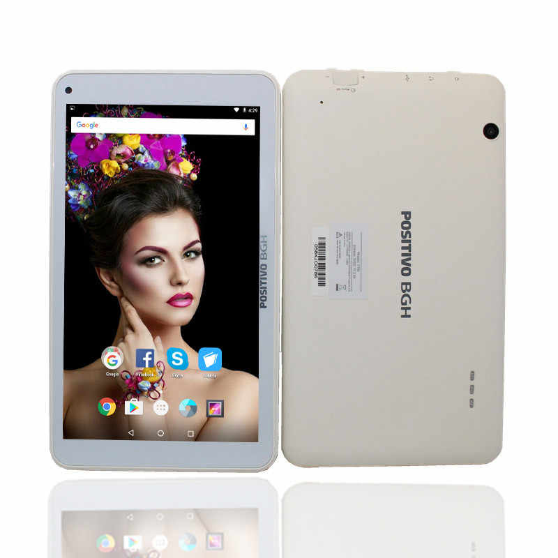 Glavey 7 pulgadas Y700 RK3126 Tablet PC 1GB + 8GB Android6.0 tableta de cuatro núcleos PC1024 * 600 pixes tableta blanca de doble cámara con WIFI Bluetooth