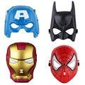 Baby Boy Super Hero мстители Косплей Маска Человек-Паук Железный Человек Бэтмен Халк Капитан Америка Маска для Детей Детей