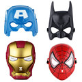 Baby Boy Super Hero the Avengers Cosplay Mask Spider Man Iron Man Batman Hulk Captain America Mask for Kids Children