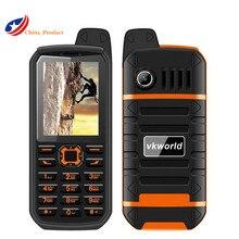 "Geschenk! VKWorld Stein V3 Plus 3000 mAh batterie Dual SIM IP54 wasserdicht 2,4 ""Staubdicht Moible telefon Bluetooth outerdoor handy"