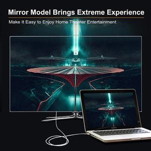Image 4 - Cabo conversor dp para dvi cabletime thunderbolt, mini exibição, adaptador para macbook pro aimini tv, laptop e projetor n014