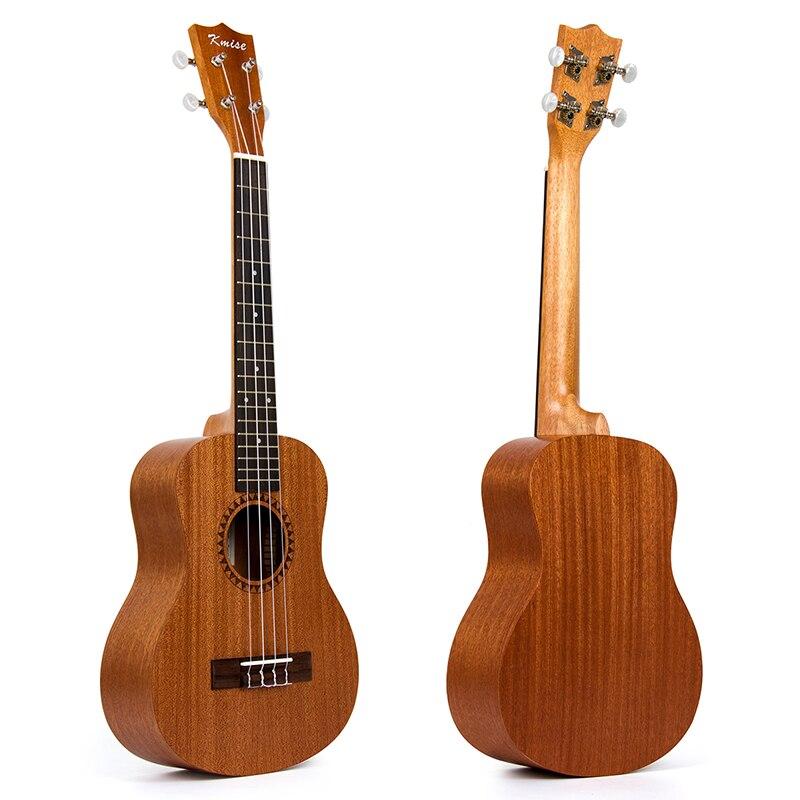 Kmise Tenor Ukulele Ukelele Uke Sapele 26 inch 18 Fret 4 String Hawaii Guitar