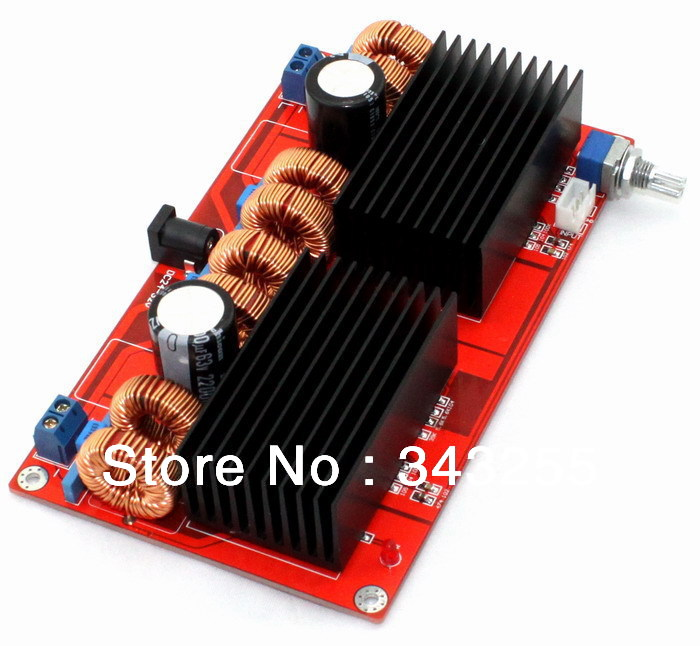 Free-Shipping-Parallel-TDA7498-2-0-power-amplifier-board-200WX200W-D-Class-Amplifier-Board-Can-connect (1)