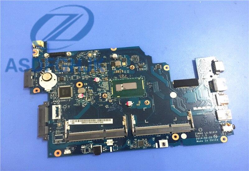 laptop motherboard Z5WAH LA B161P REV 1 0 NBV9M11001 NB V9M11 001 For font b acer