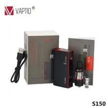 Original Vaptio S150 Electronic cigarette vape kit with 3 0ml Atomizer VW VT Ni Ti SS.jpg 220x220 - Vapes, mods and electronic cigaretes