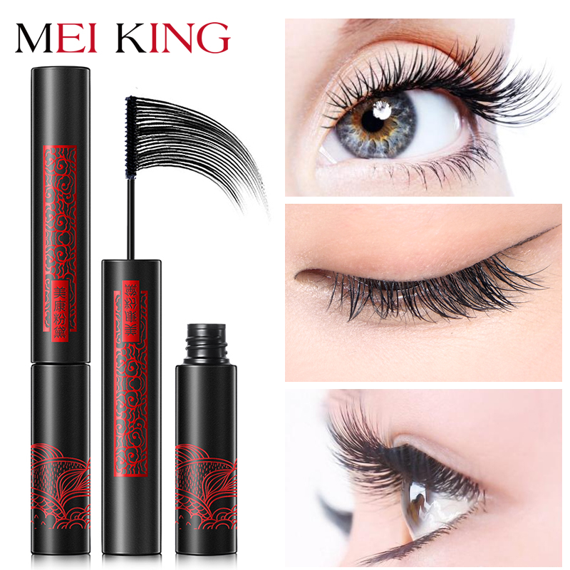 MEIKING Mascara Makeup Waterproof Lengthening Cosmetics Mascaras Ladies Women False Eye Lashes Make Up Mascara maquiagem black long lasting pencil waterproof eyeliner mascara makeup waterproof lengthening cosmetics set cosmetic beauty makeup meiking