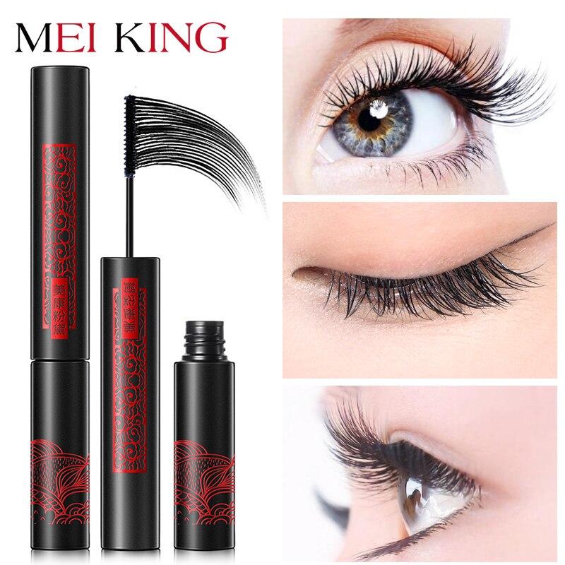 MEIKING Mascara Makeup Waterproof Lengthening Cosmetics Mascaras Ladies Women False Eye Lashes Make Up Mascara maquiagem