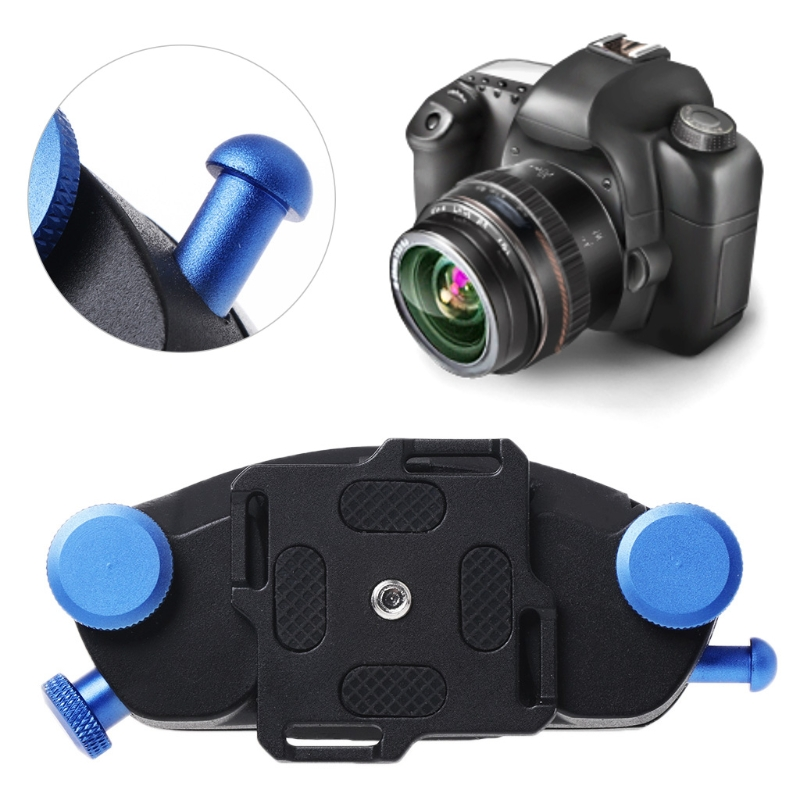 1pc Camera Waist Belt 1/4 Screw Strap Quick Release Mount Buckle Hanger Holder New