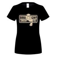 GILDAN Women T Shirt Bubba Gump Shrimp Co 100 Cotton Top Women Short Sleeve Tee Shirts