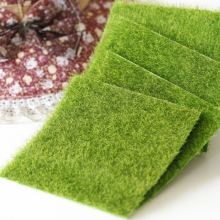 DIY мини-сказочный сад декоративные растения искусственные поддельные мох декоративные газон зеленая трава микро Пейзаж украшения