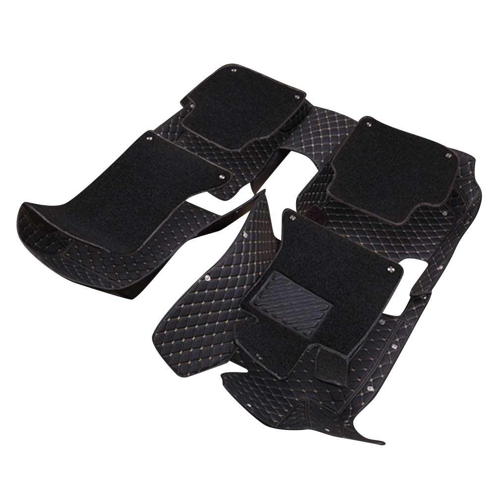 Rubber floor mats for jaguar xf - Topmats Double Layer Floor Mats For Ford Fusion 2013 2016 Leather 3d Floor Mats Suv