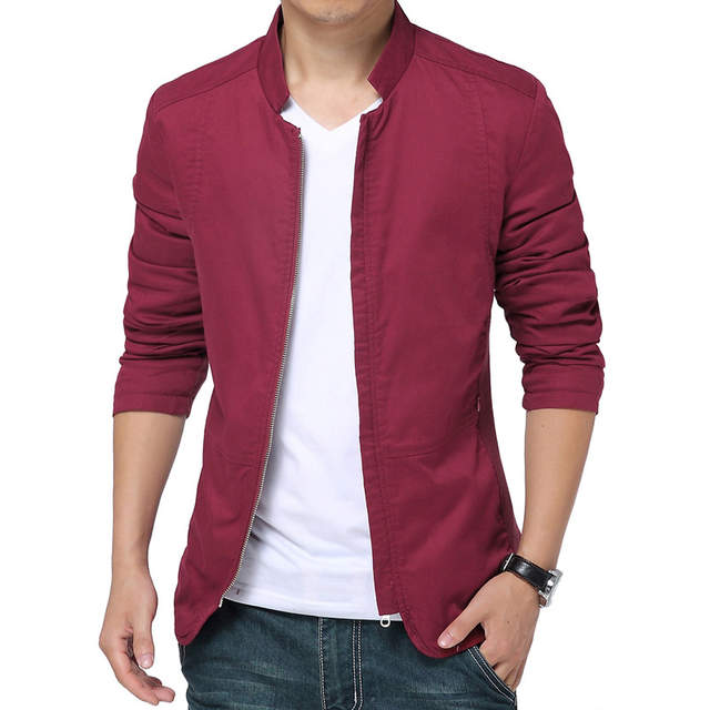 Brand White Jacket Men 2017 Fashion Design Mens Slim Fit Windbreaker Jacket  Casual Stylish Blazer Zipper b7151961996