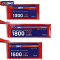 1pcs OCDAY 14.8V 1300mAh/1500mAh/1800mAh 75C Lipo Battery XT60 Plug for 150-280 Raing Quacopter