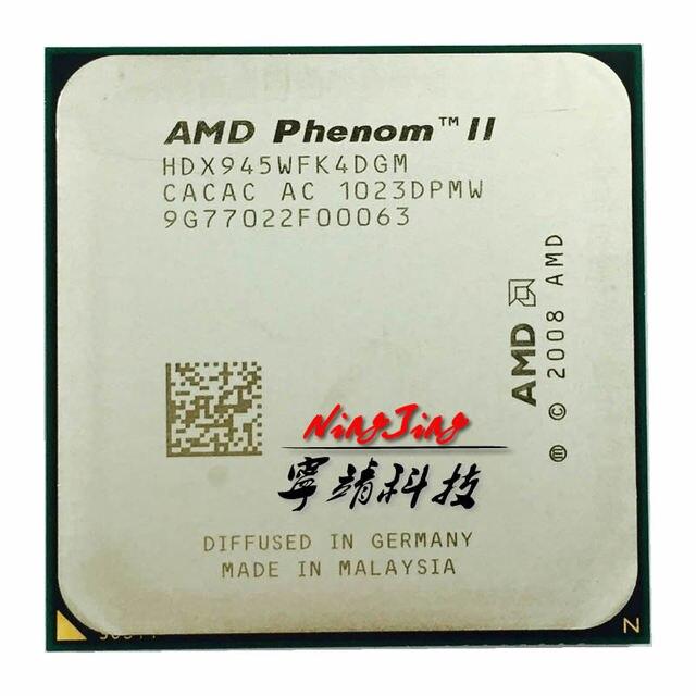 AMD procesador Intel Phenom II X4 945 95W 3,0 GHz Quad Core, HDX945WFK4DGM /HDX945WFK4DGI Socket AM3