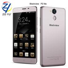 Blackview P2 Lite смартфон 4 г Android 6.0 мобильный телефон 3 г + 32 г 13.0MP 5.5HD MTK6750T Octa core 6000 мАч отпечатков пальцев ID сотовый телефон