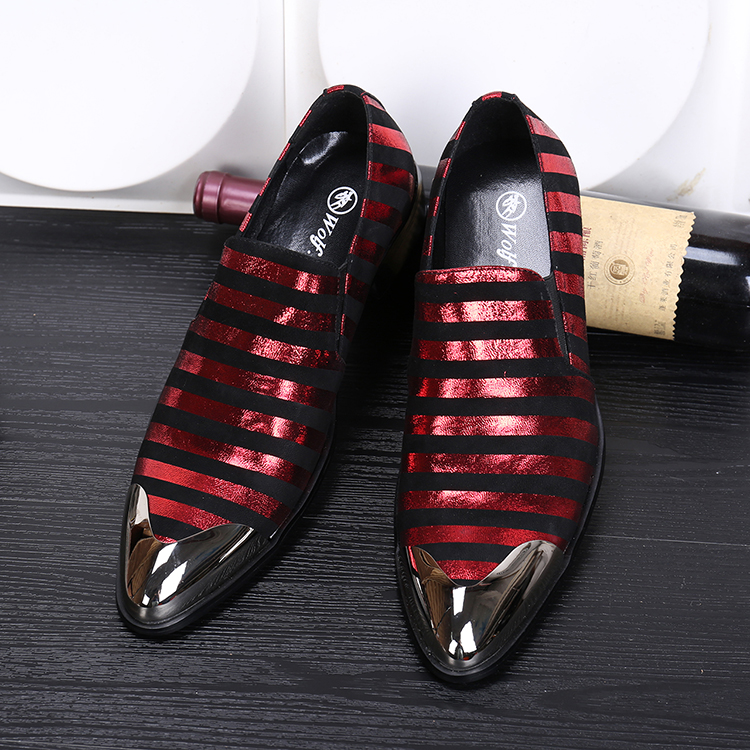 2016 fashion pointed genuine leather men's oxford shoes slip on business stage nightclub singer shoes top quality party shoe men bu166 women white grid sparkling crystals jumpsuit 3d printed nightclub party stage wear costume singer dancer bling bodysuit