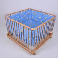 European Solid Wood Baby Multi functional Safety Game Fence Bed Adjustable Safety Game Fence Bed