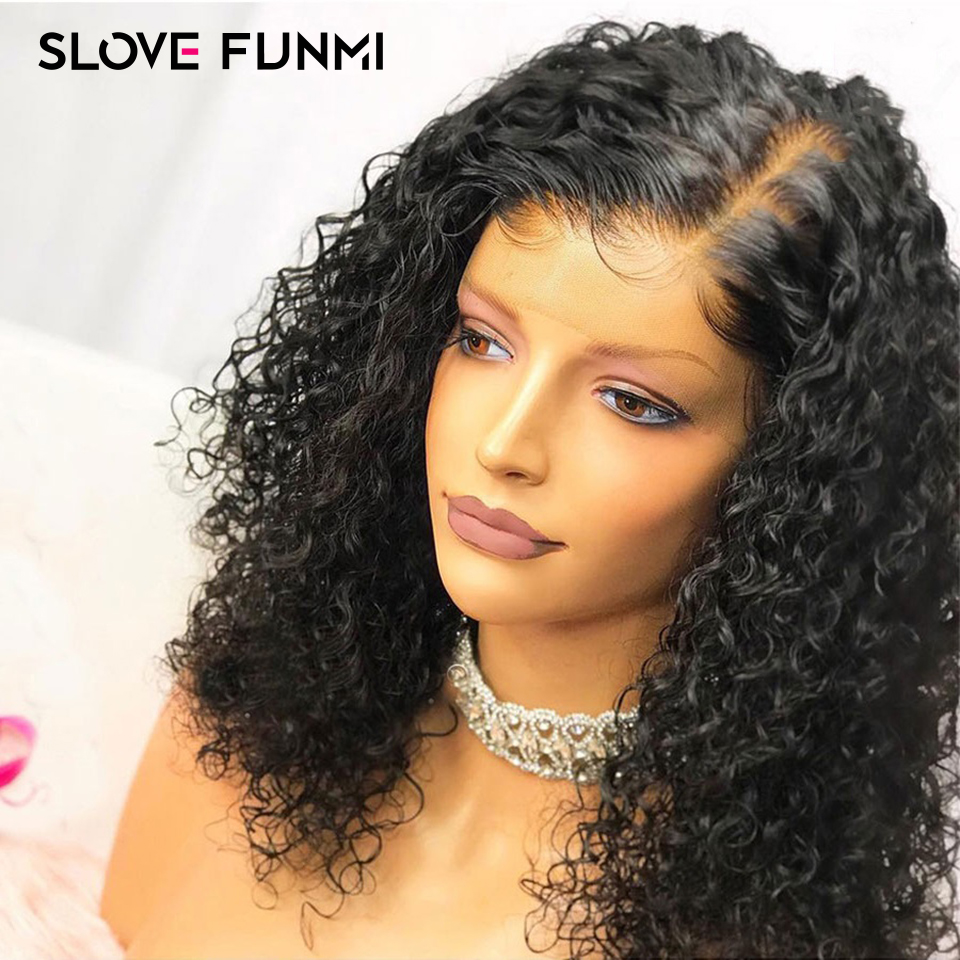 Human Hair Bob Wig Short Curly Full End Lace Front Human Hair Wigs For Black Women