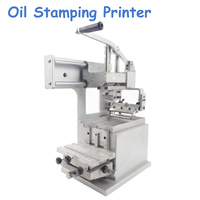 Manual Pad Printing Machine Company Logo Printer Single Color Oil Stamping Printer Design Die Board Pad Head JYS100 100