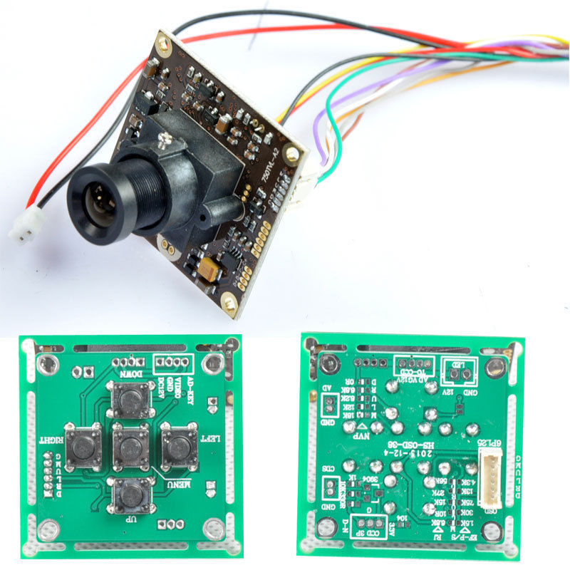 us $22 78 50% off fpv 700tvl sony super had ii ccd wdr board mini rc camera osd control panel 3 6mm lens for rc in parts & accessories from toys & chevrolet wiring diagram sony 700tvl fpv wiring diagram #1