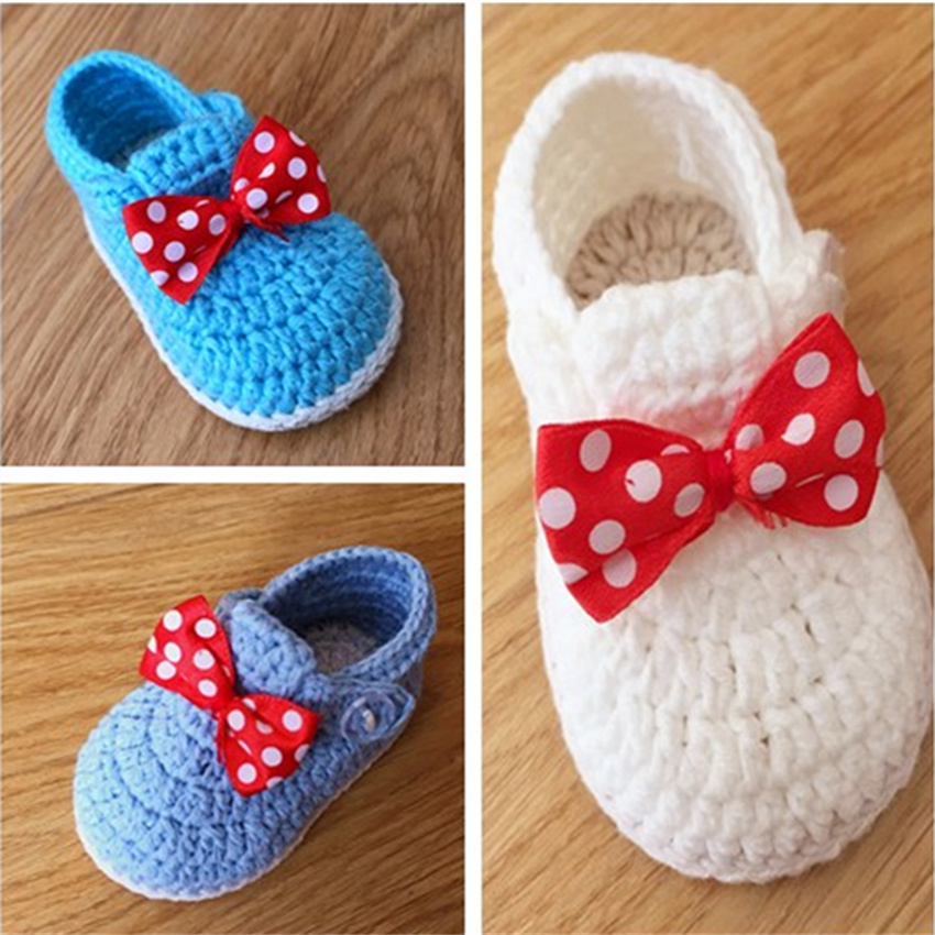 QYFLYXUE handmade butterfly-knot Baby Shoes, toddler shoes 8cm 9cm 10cm 11cm ...