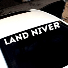 Three Ratels TZ-664 7.62*60cm 1-2 pieces LAND NIVER car stickers and decals auto sticker
