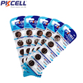 25Pcs 5Card 3V Lithium Button Battery CR2032 DL2032 CR 2032 KCR2032 5004LC ECR2032 210mah Button Cell Coin Batteriesfor Watch