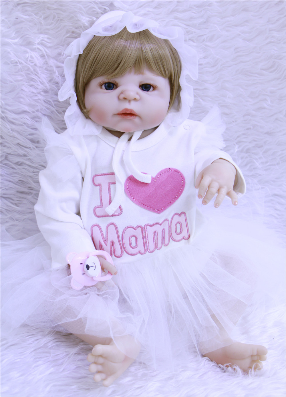 22 full body silicone reborn baby for girls toys gift fake baby doll reborn can bath dolls Bebes reborn  bonecas  brinquedos 22 full body silicone reborn baby for girls toys gift fake baby doll reborn can bath dolls Bebes reborn  bonecas  brinquedos