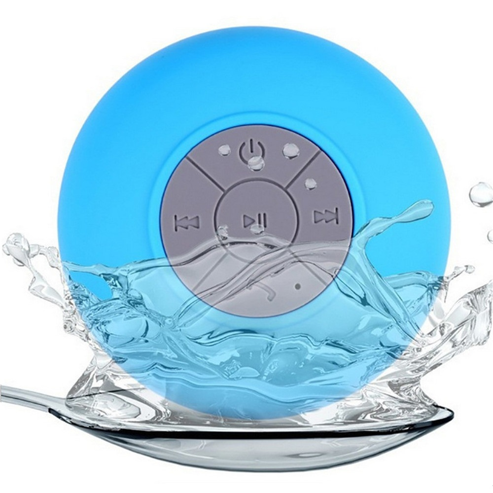 Shower Speaker Waterproof Wireless Bluetooth Sucker Bass With Micro Phone Function Hands-free Music for Car Bathroom Office Home stereo mobile phone system waterproof for shower 10w bt4 0 super bass hi fi hands bluetooth speaker