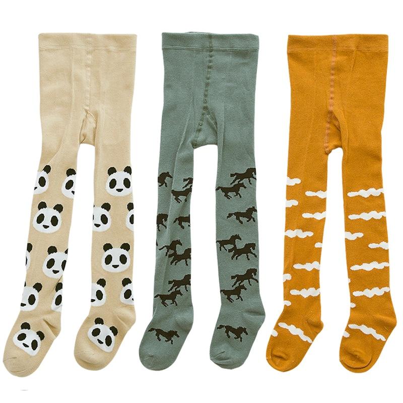 2d02d5af33b69 3 adet/grup Sıcak Satmak Çocuk Kız Tayt Kawaii Bebek Erkek Tayt Yumuşak  Pamuk Çocuk Çorap Külotlu Çorap Bebekler Giyim Için 1-3Y
