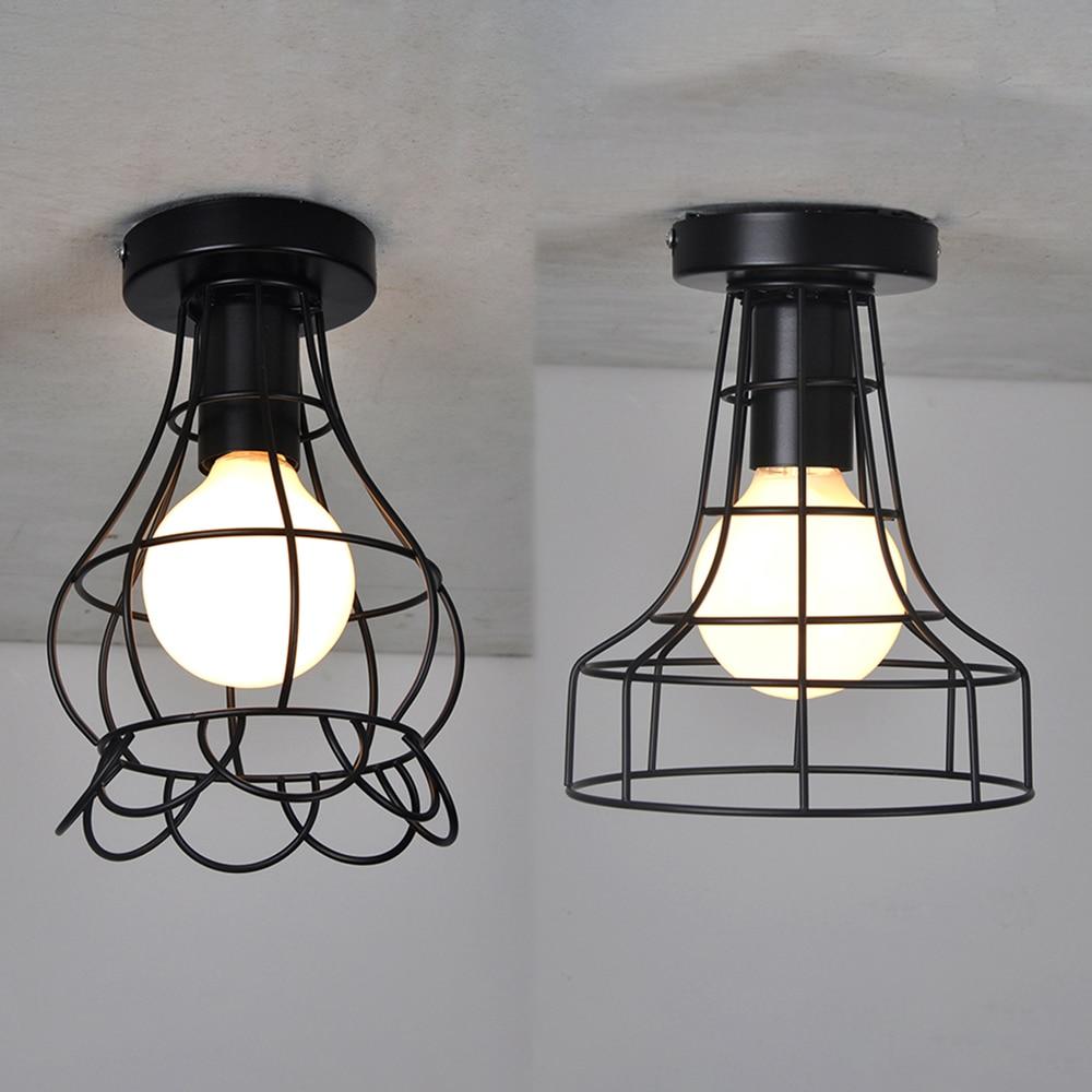 WOXOYOZO Two Types Vintage Industrial Ceiling Light Loft