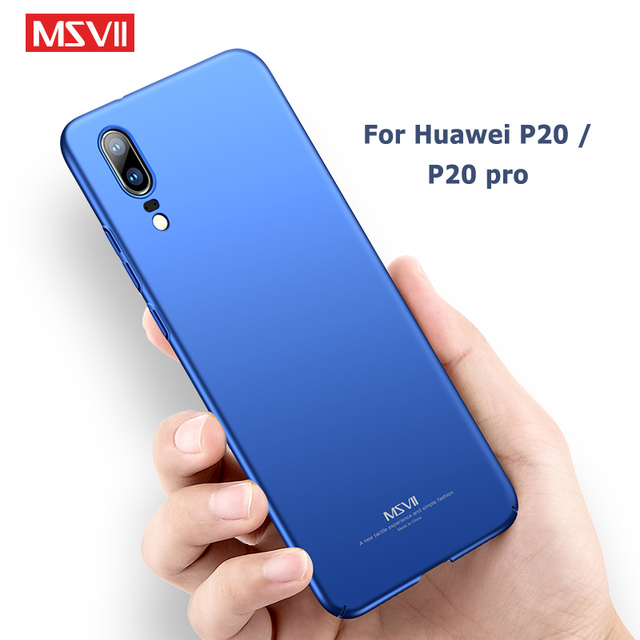 timeless design b3dda 42a18 US $3.98 20% OFF|Huawei P20 Case Cover Msvii Ultra Thin Frosted Cases For  Huawei P20 Lite Case P 20 Plus Hard PC Cover For Huawei P20 Pro Cases-in ...