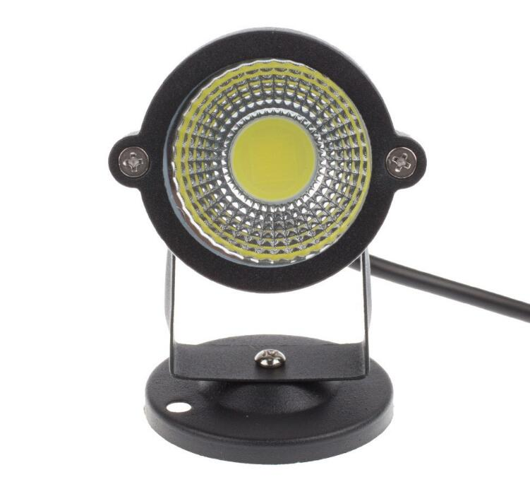 7W LED Lawn Lamp IP65 Waterproof Outdoor Lighting Green Yellow Red Blue White 7W LED Lawn Spike Light For Garden AC85 265V in Floodlights from Lights Lighting