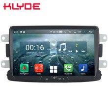 8 «ips Восьмиядерный 4G Android 8,1 4G B ram 6 4G B rom автомобильный DVD мультимедийный плеер стерео для Renault Duster Dacia Sandero Lada Logan 2