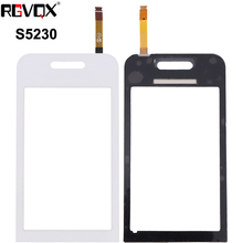 цена на New Touch Screen For Samsung Galaxy Tocco Lite S5230 S5233 Digitizer Front Glass Lens Sensor Panel