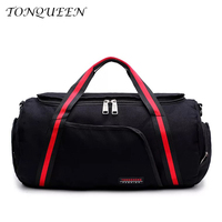 New Design Hot Selling Canvas Travel Bag Soft Solid GYM Bag Outdoor Sport Bags Men With Single Strip Fitness Yoga WX065