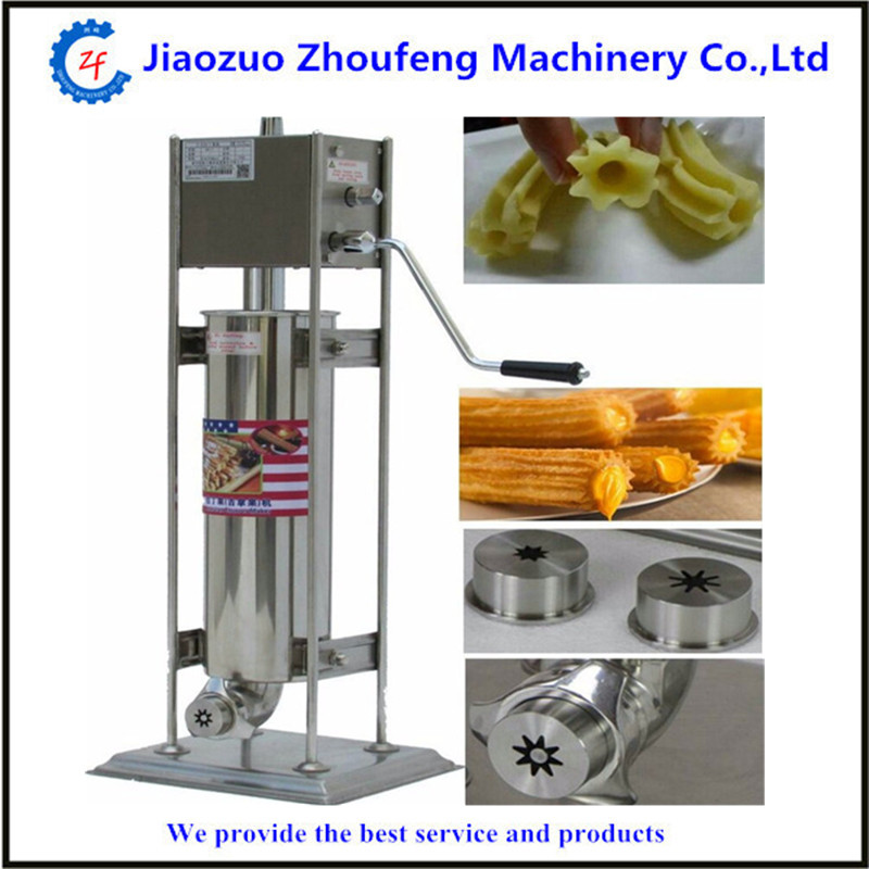 15L manual spanish churros maker machine 12l automatic churros machine maker spanish snacks latin fruit machine
