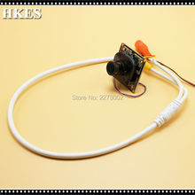 90pcs/Lot HD 1.0MP 720P AHD Camera Module indoor 2.8mm wide angle Lens with BNC Port Cable