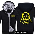Winter Jackets and Coat Star Wars hoodie Sith /I am your father Thicken Warm Men Sweatshirts 6 style