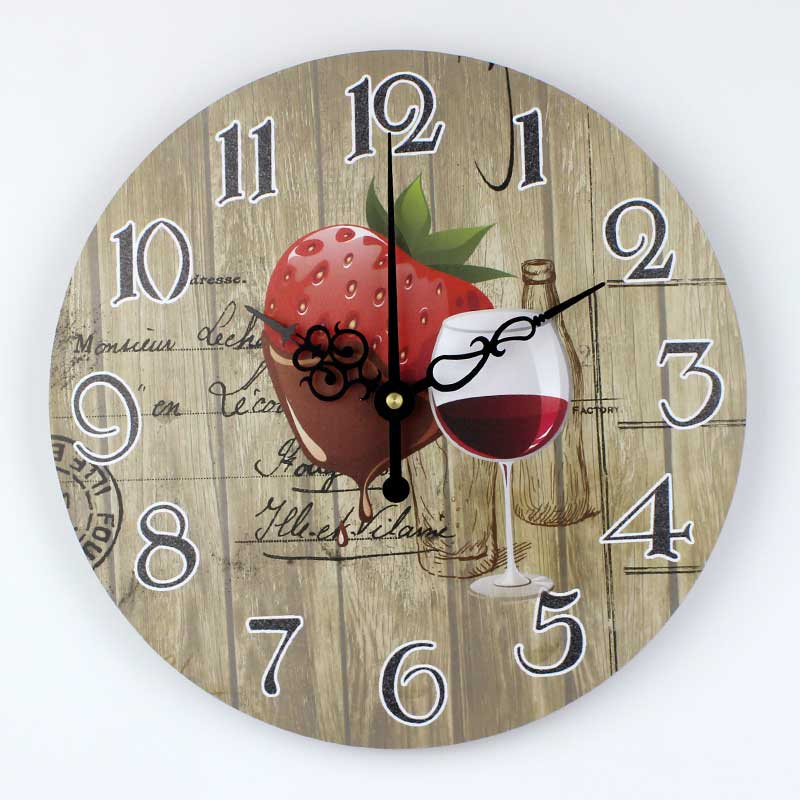 Aliexpress.com : Buy Wholesale Dining Room Decoration Wall Clock Modern  Design Waterproof Clock Face Fashion Kitchen Home Decor Watch Wall Gift  From ...